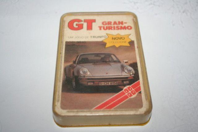 Super trunfo Grow Anos 80 - GT - Gran Turismo