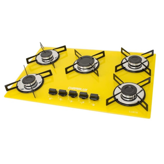 Cooktop 5 bocas Ultra-chama - Foto 4
