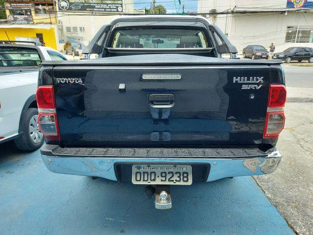 Toyota Hilux CD 2.7 SRV 4X4 Flex com GNV - Foto 2