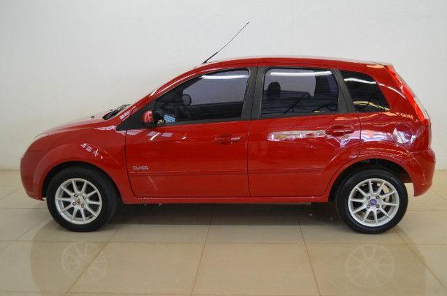 Fiesta Class 1.6 - completo - vermelho - ano 2009 - Foto 5