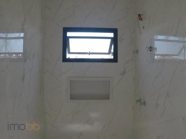 Casa com 3 dormitórios à venda, 168 m² por R$ 835.000 - Condomínio Alto de Itaici - Indaia - Foto 15
