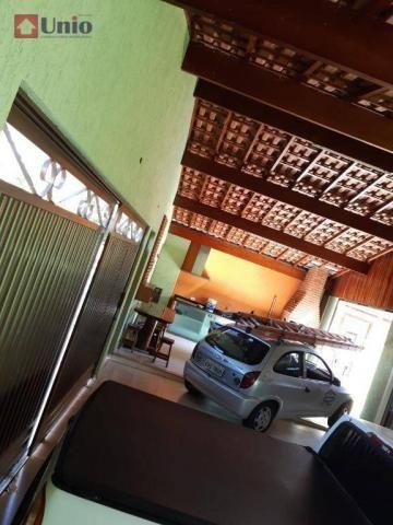 Casa com 3 dormitórios à venda, 220 m² por R$ 405.000 - Conjunto Residencial Mário Dedini  - Foto 16