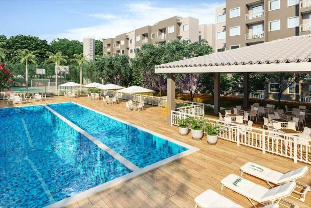 Apartamento com 2 dormitórios sendo 1 suíte à venda, 49 m² por R$ 152.500 - Centro - Euséb - Foto 6