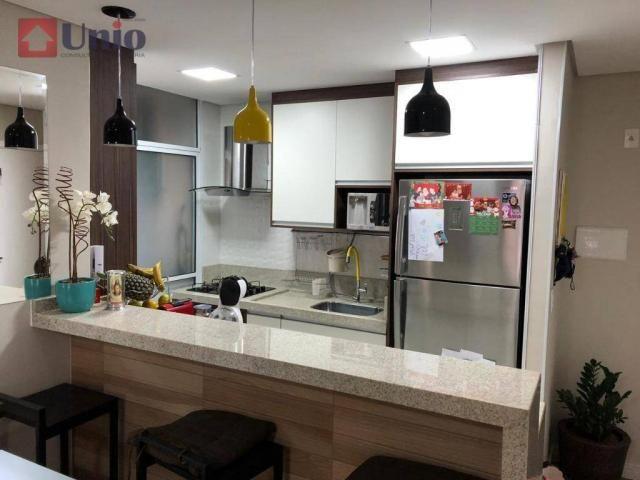 Apartamento com 3 dormitórios à venda, 68 m² por R$ 390.000 - Alto - Piracicaba/SP - Foto 12