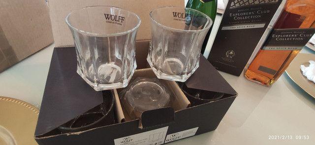 Combo (3 em 1) Whisky Jhonnie Walker + Chandon Réserve Brut + Copos de Whisky (Cristal) - Foto 4