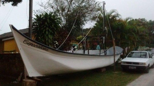 Canoa de fibra - Foto 2