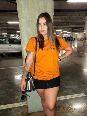 Camiseta t-shirt mostarda - Foto 2