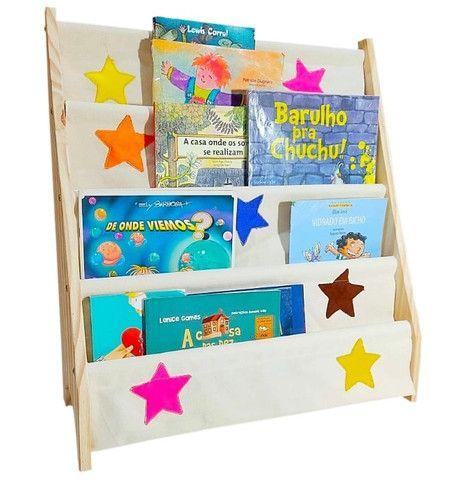 Rack Para Livros Infantil, Standbook Montessoriano - Foto 3