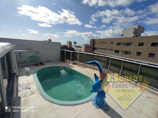Cabo Branco, Cobertura, pisc  priv, 2 qt, 110m², 480mil, Venda, Apartamento, João Pessoa - Foto 14