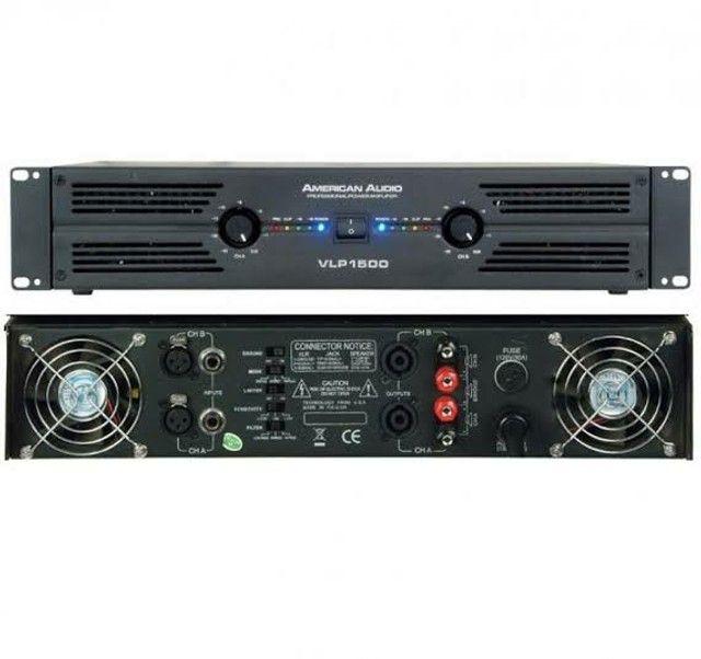 Cabeçote Amplificador Potência American Audio VLP1500