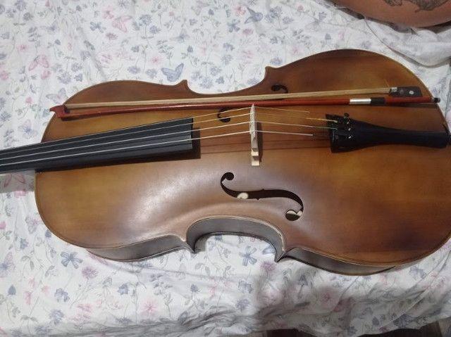 Violoncelo 4/4 Vogga Envelhecido - Foto 5