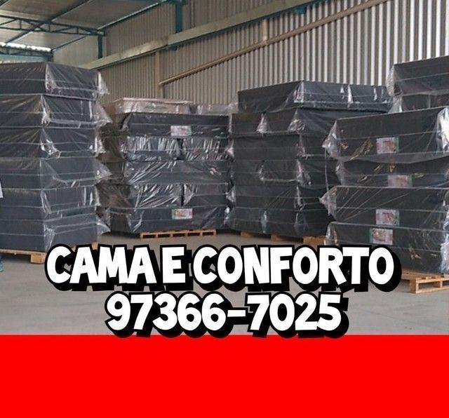 CAMA BOX, BAÚ E COLCHÕES, DIRETO DA FÁBRICA!!! - Foto 5