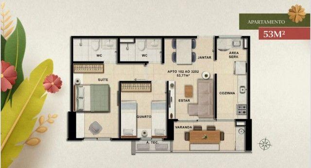 Apartamento para venda de 53 a 70 metros quadrados com 2 ou 3 quartos na Caxangá - Foto 13