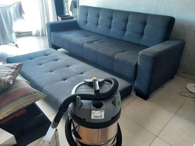 Higienização e lavagem  a seco de sofá em promoção  a partir 79.99 - Foto 6