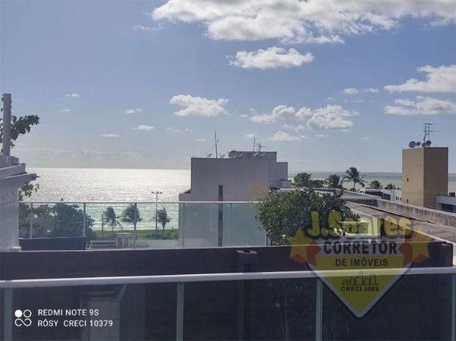 Cabo Branco, Cobertura, pisc  priv, 2 qt, 110m², 480mil, Venda, Apartamento, João Pessoa - Foto 20
