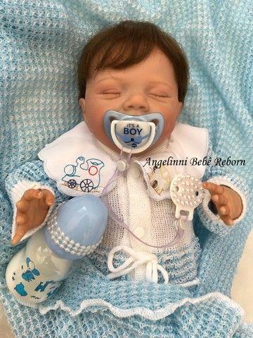 Bebê Reborn Gabriel - Pronto Envio! Com Enxoval - Foto 2