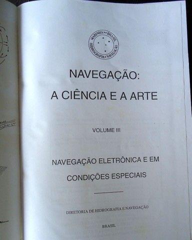 Livro Navegação A Ciência e a Arte Vol 3 - Foto 3