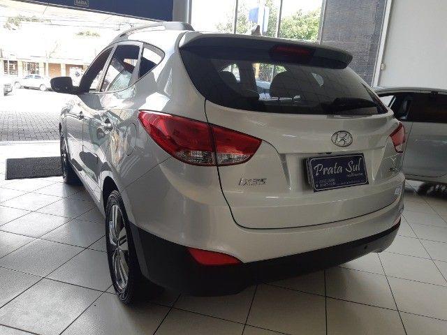 Hyundai IX35 Gls 2.0 Aut Flex 2017, Multimidia, Couro, Unica Dona, Periciada - Foto 14