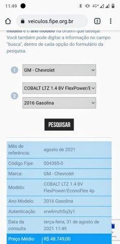 Cobalt 1.4 LTZ 2016 4 portas - Foto 13