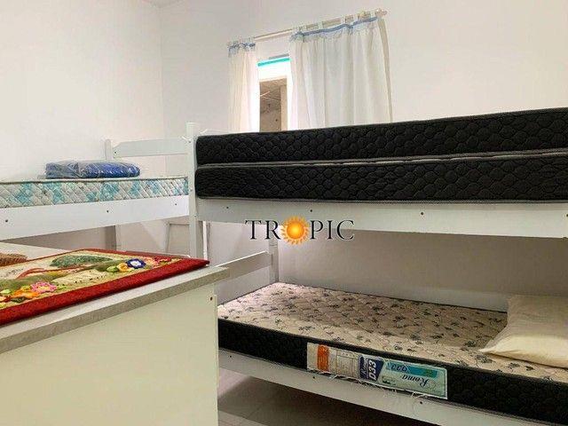 Apartamento com 3 dormitórios à venda, 120 m² por R$ 350.000,00 - Bal Mogiano - Bertioga/S - Foto 11