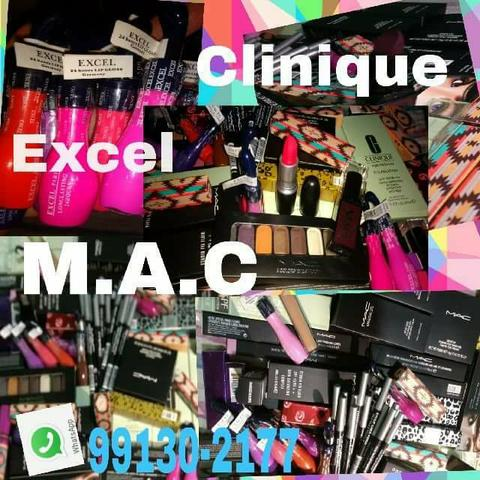 Maquiagens MAC, Clinique e Exel