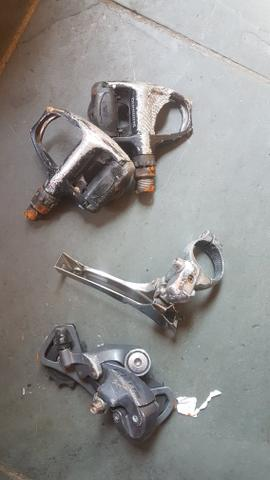 Pedal clip speed shimano