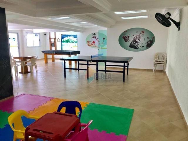 Apartamento para alugar, 82 m² por R$ 2.800,00/mês - Tupi - Praia Grande/SP - Foto 17