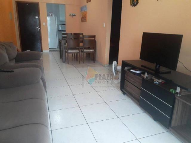 Apartamento para alugar, 82 m² por R$ 2.800,00/mês - Tupi - Praia Grande/SP - Foto 2