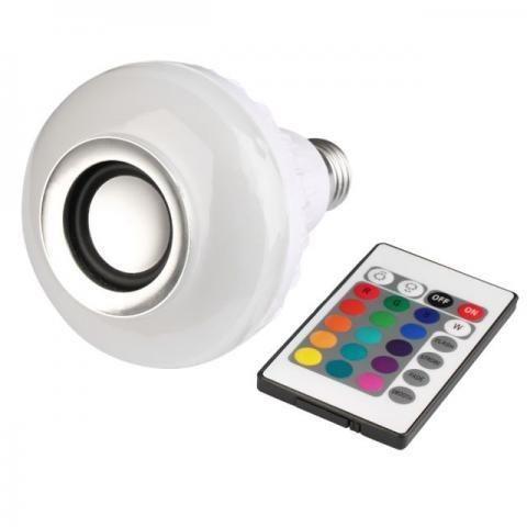 Lampada com Som Bluetooth - NOVO - (Whats 99266-5951)