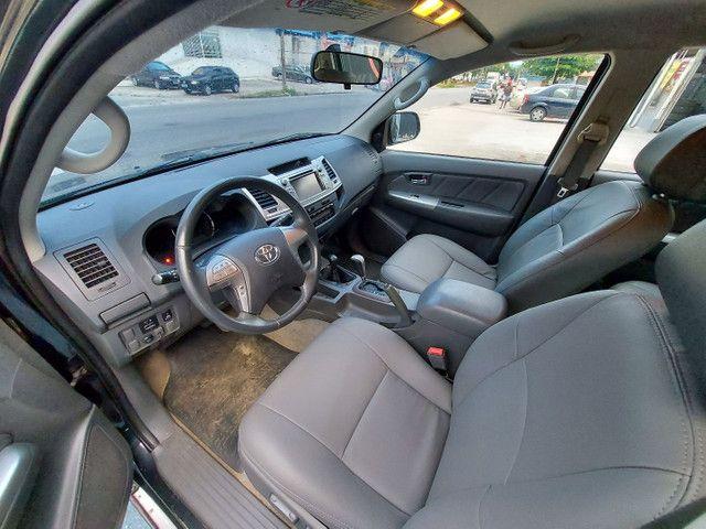 Toyota Hilux CD 2.7 SRV 4X4 Flex com GNV - Foto 7