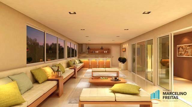 Apartamento com 3 dormitórios à venda, 71 m² por R$ 430.000,00 - Jacarecanga - Fortaleza/C - Foto 14