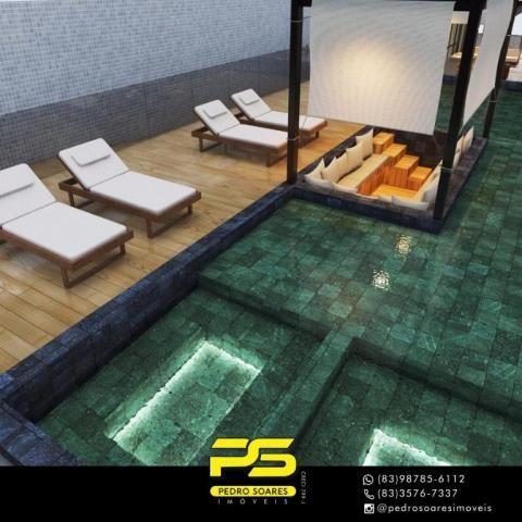Apartamento com 2 dormitórios à venda, 60 m² por R$ 468.000 - Cabo Branco - João Pessoa/PB - Foto 14