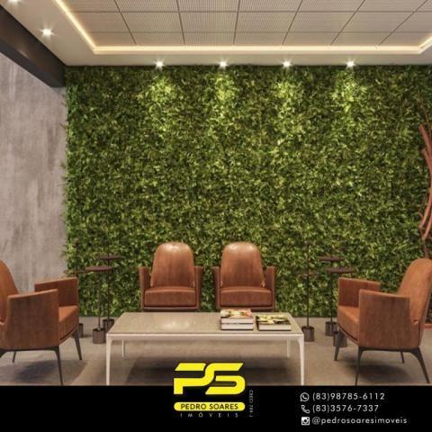 Apartamento com 2 dormitórios à venda, 60 m² por R$ 468.000 - Cabo Branco - João Pessoa/PB - Foto 9