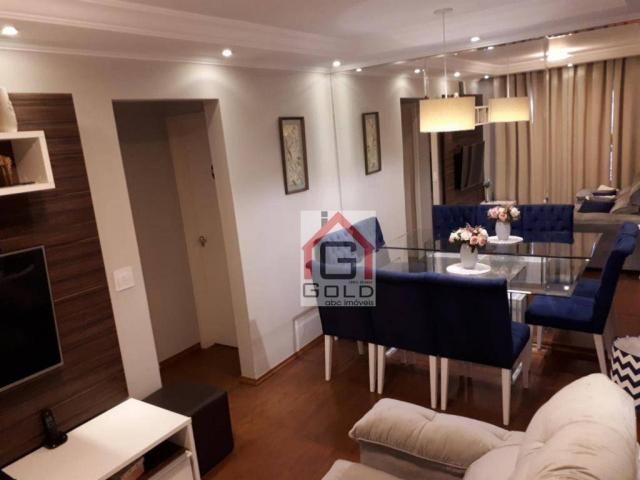 Apartamento com 2 dormitórios à venda, 52 m² por R$ 245.000 - Vila Francisco Matarazzo - S - Foto 3
