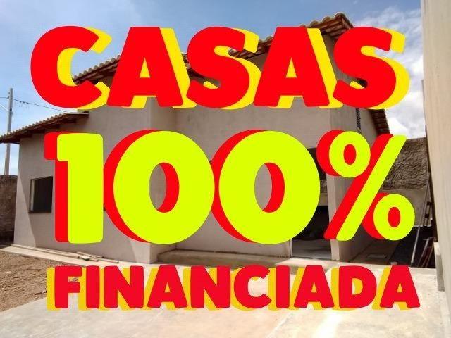 Casas financiadas em até 100%