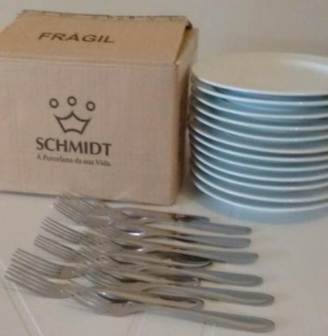 Pratos Sobremesa Schimidt excelentes - Foto 5