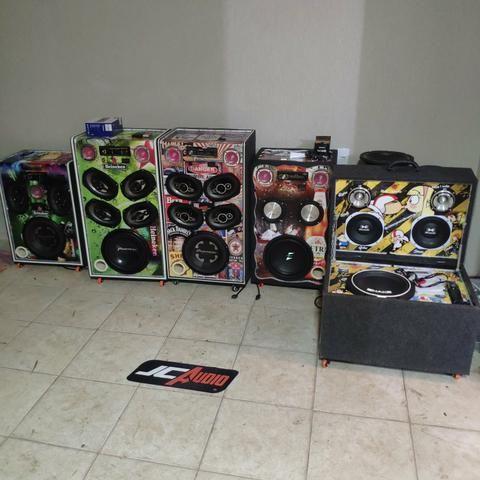 Caixas de som residencial personalizadas - Foto 2
