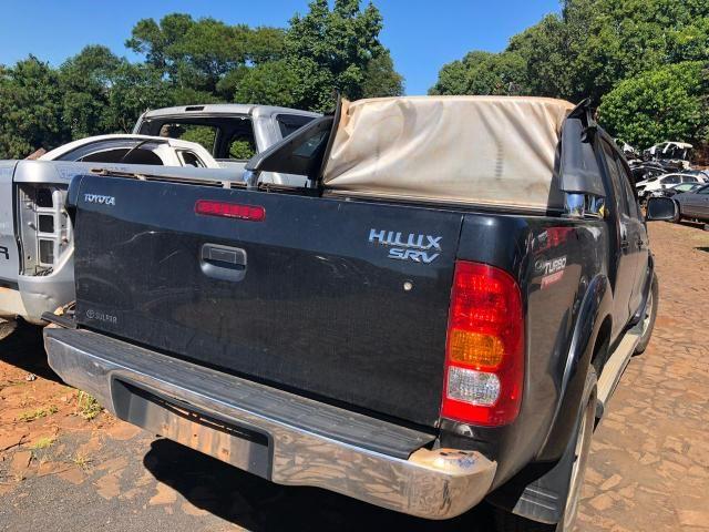 Sucata para retirada de peças- Toyota Hilux srv - Foto 2