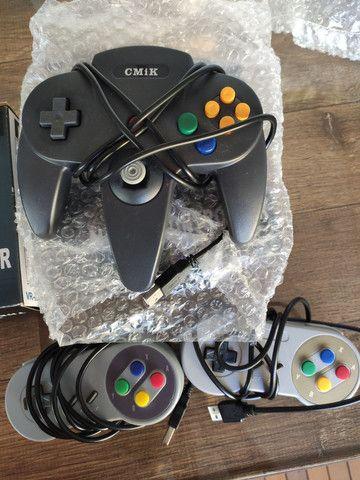Controles N64 e Snes USB - Foto 2