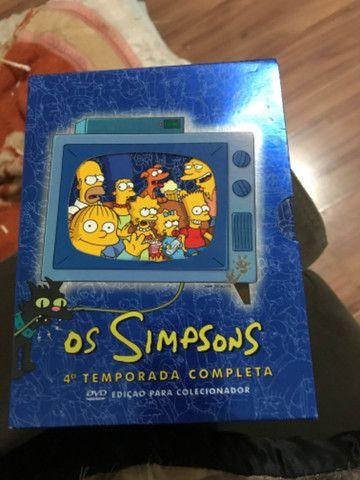 Os Simpsons 4 temporadas completa - Foto 4