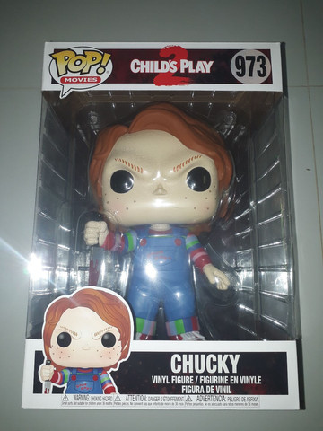 Funko pop childs play 2 chucky 973 25cm 1 kilo  - Foto 2