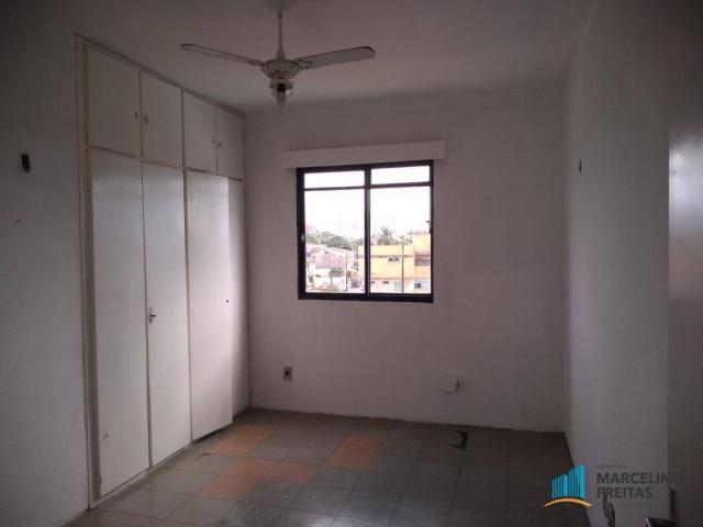 Apartamento com 3 dormitórios para alugar, 112 m² por R$ 999,00/mês - São Gerardo - Fortal - Foto 17