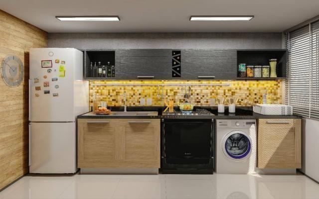 Apartamento com 2 dormitórios sendo 1 suíte à venda, 49 m² por R$ 152.500 - Centro - Euséb - Foto 4
