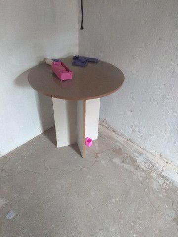 mesa redonda de MDF - Foto 2