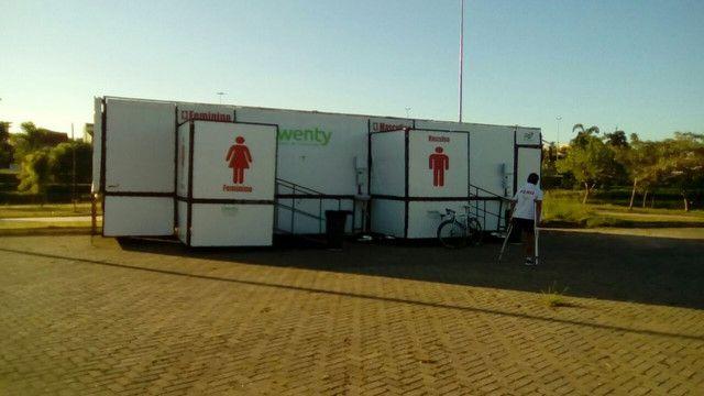 Ônibus banheiro Químico VIP  - eventos e festas - Foto 3