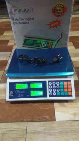 Balança eletrônica comercial 40 kg - Foto 5