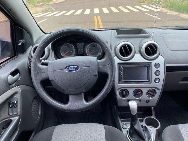 Fiesta 2012 Hatch 1.6 Completo + Multimídia e sensor de Ré - Foto 5