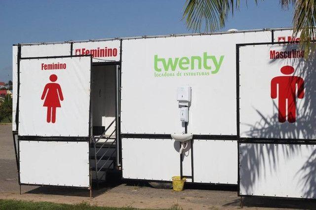 Ônibus banheiro Químico VIP  - eventos e festas - Foto 2