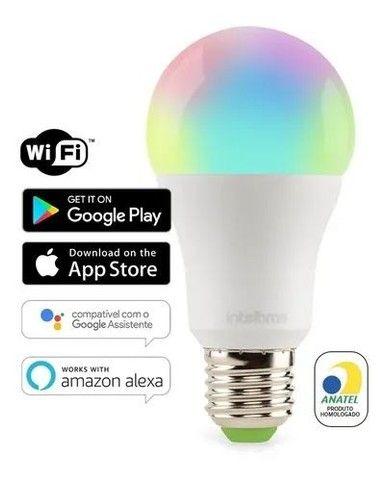 Lampada led wi-fi smart ews 407 - Intelbras Controle pelo app - Foto 3