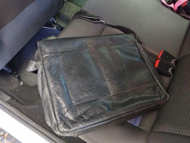 Bolsa Notebook Carteiro em couro Bennesh - Foto 4